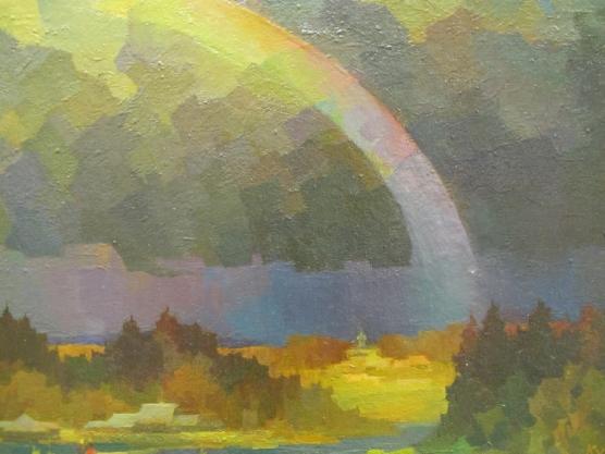 картинки масло радуга
